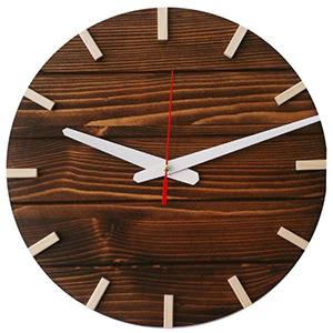 خرید 40 مدل ساعت دیواری چوبی مدرن و سنتی با طراحی [شیک] و قیمت ارزان